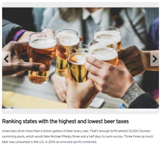beer taxes